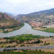Вид на Мцхету с горы