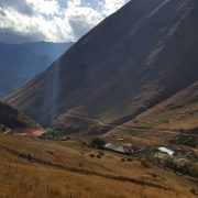 Деревня Джута в Грузии